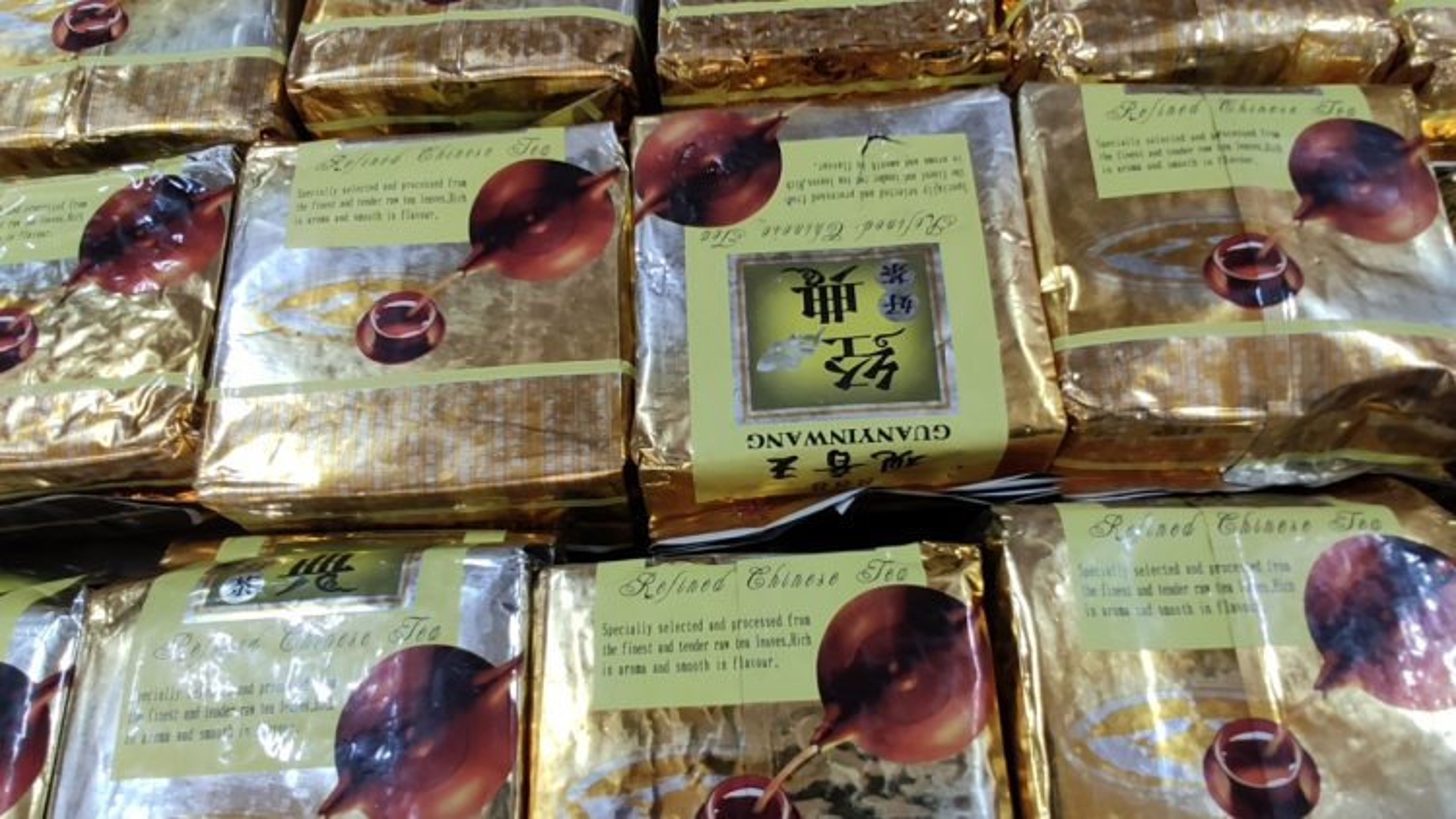 Hình ảnh lô hàng ma túy dạng đá lớn nhất bị triệt phá ở Lai Châu