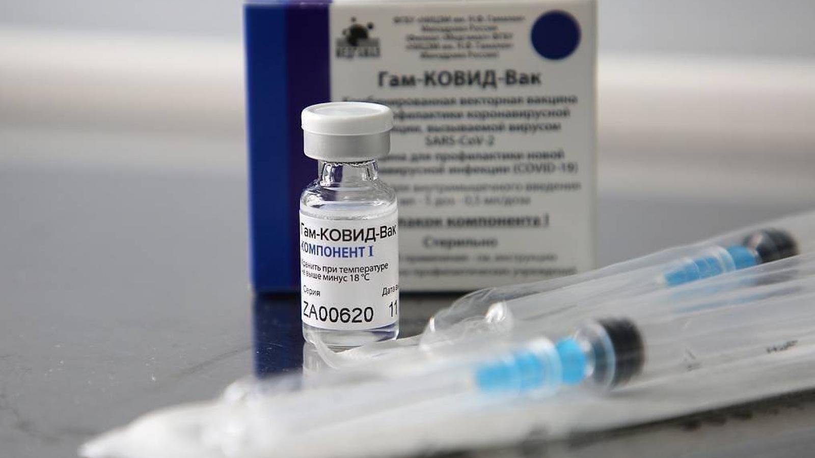 Vaccine Sputnik V chính thức được phép sử dụng ở Hungary
