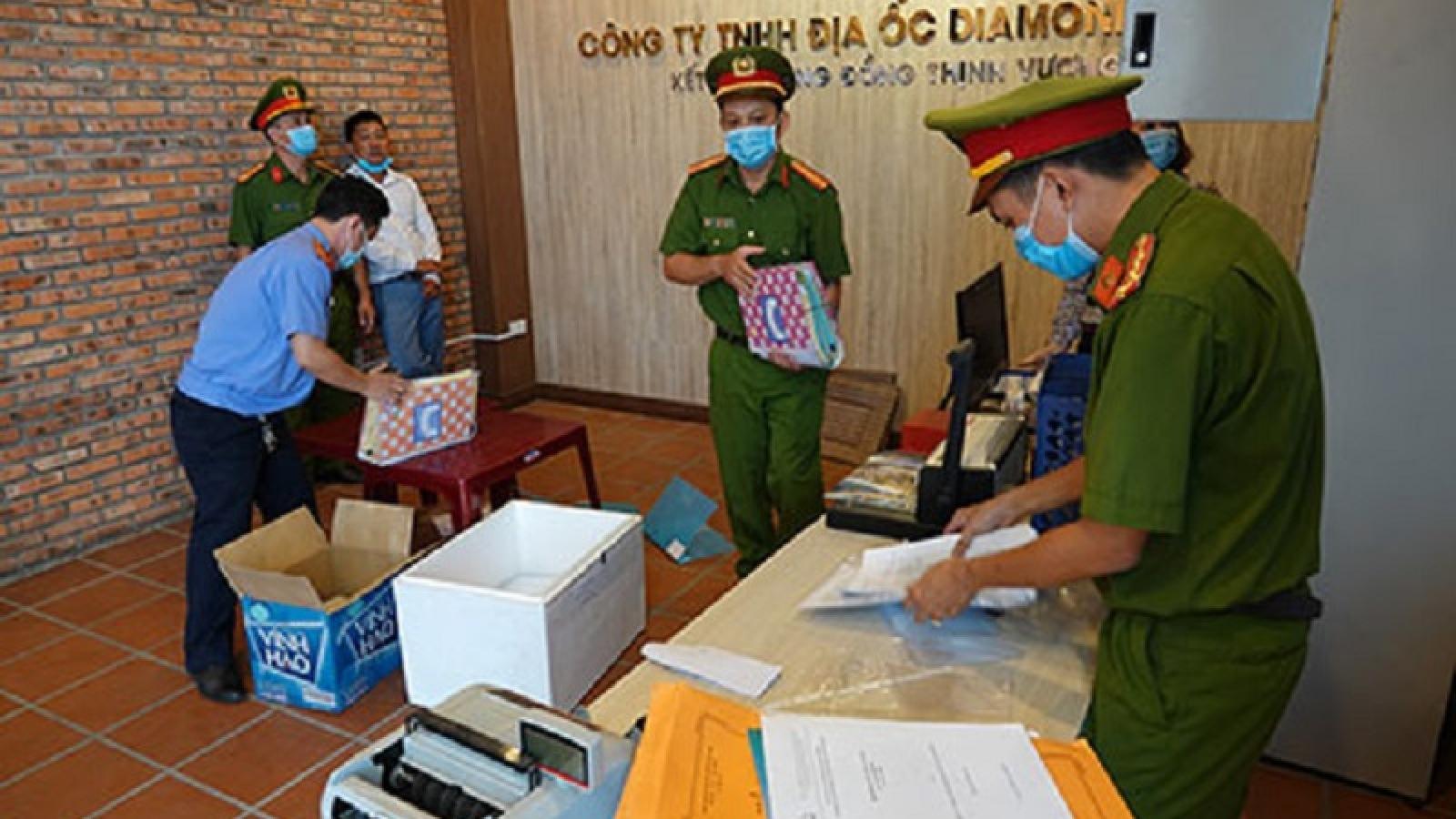 Bình Thuận: Bắt tạm giam Giám đốc Công ty địa ốc Diamond Land