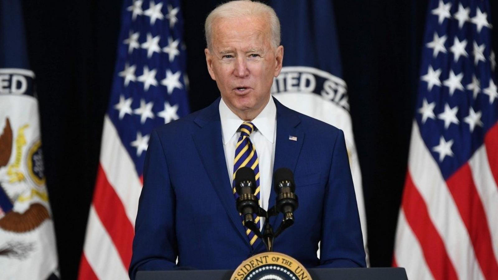 Tổng thống Biden: Trung Quốc là đối thủ cạnh tranh gay gắt nhất