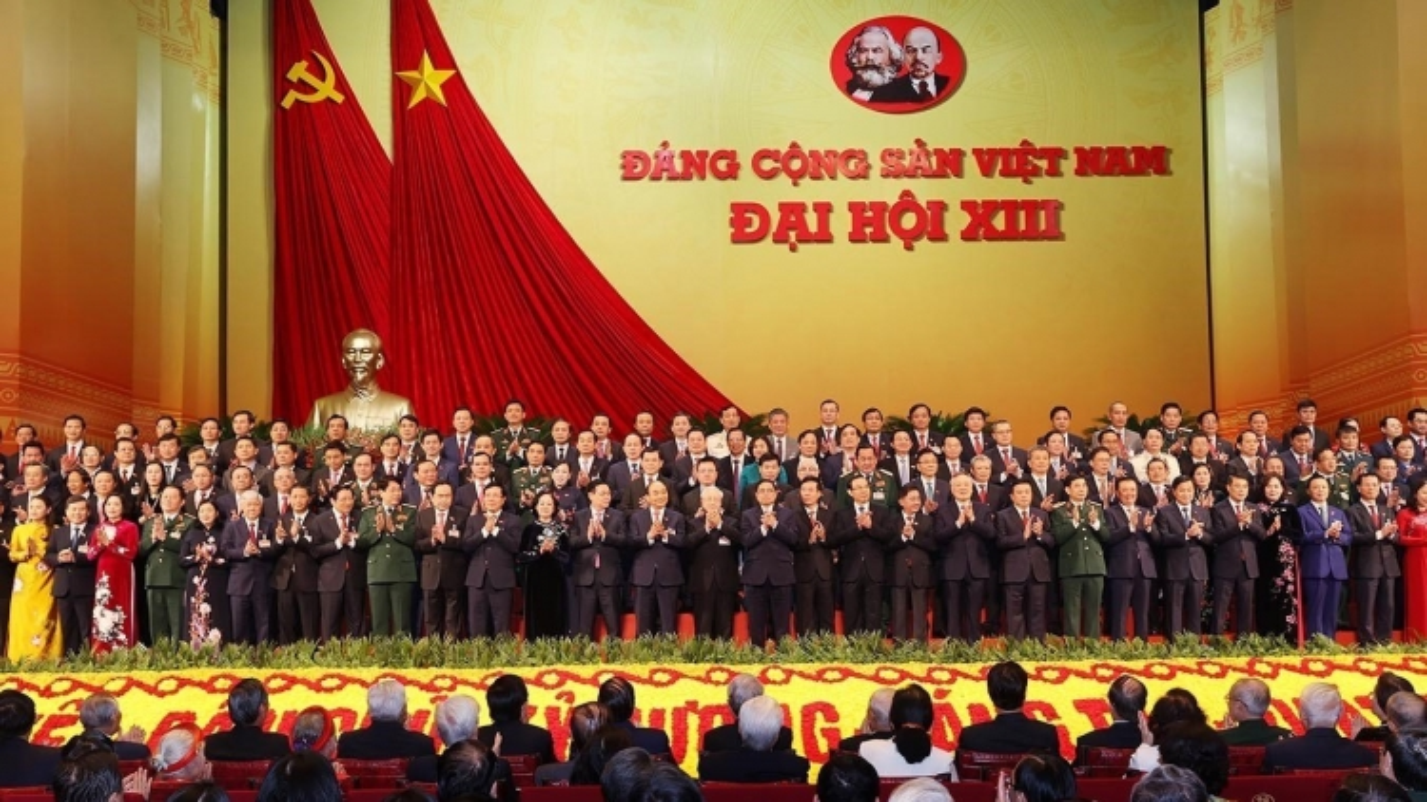 Cơ cấu Ban Chấp hành Trung ương Đảng khóa XIII