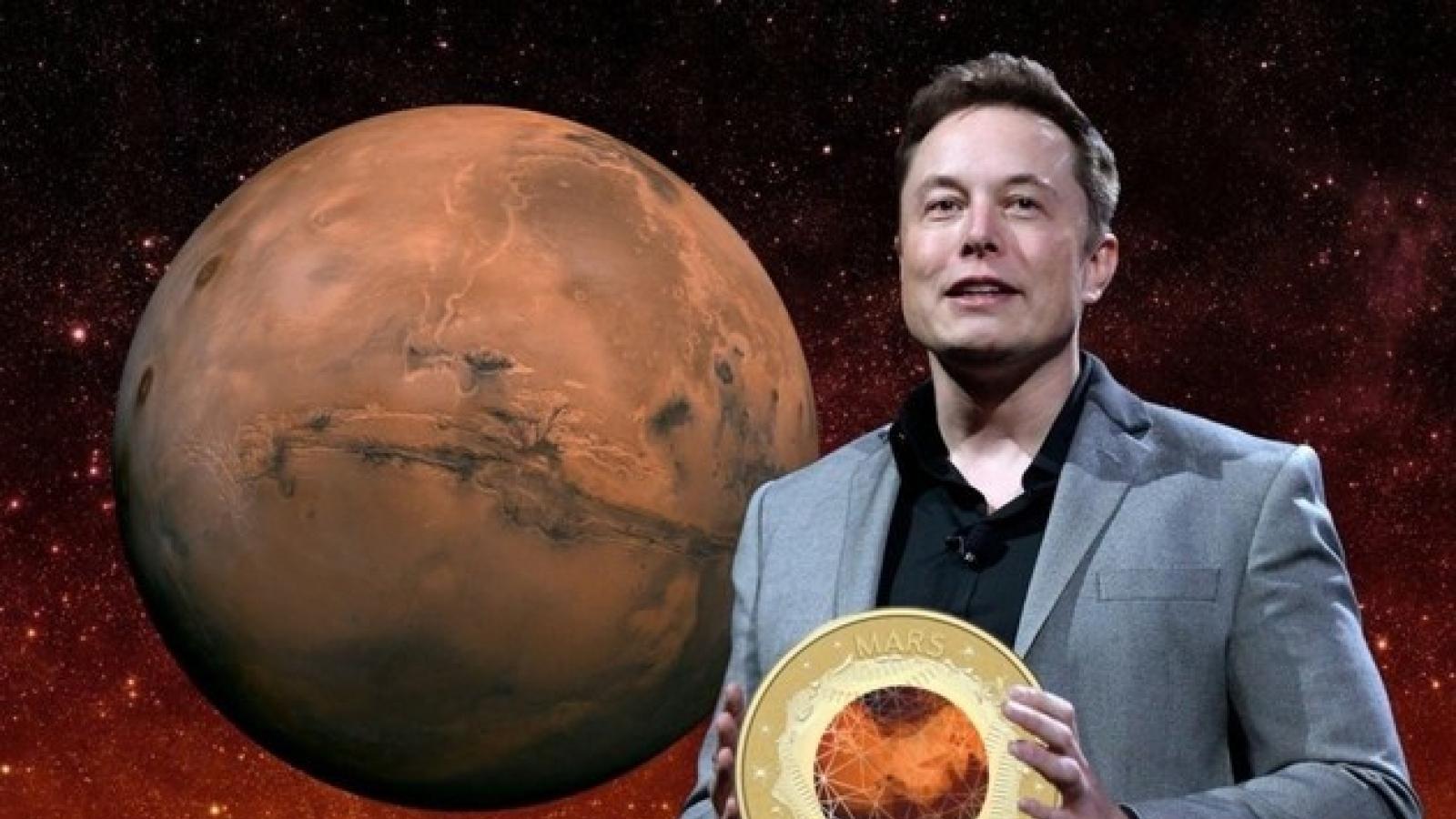 Ông chủ Tesla dự định tạo đồng tiền số riêng MarsCoin
