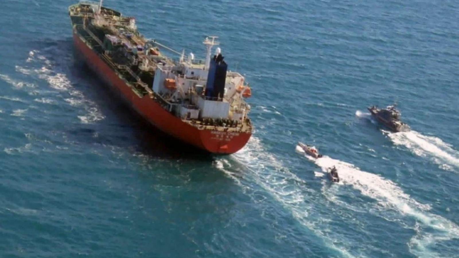 Iran thả toàn bộ thủy thủ đoàn trên tàu chở dầu Hàn Quốc bị bắt giữ