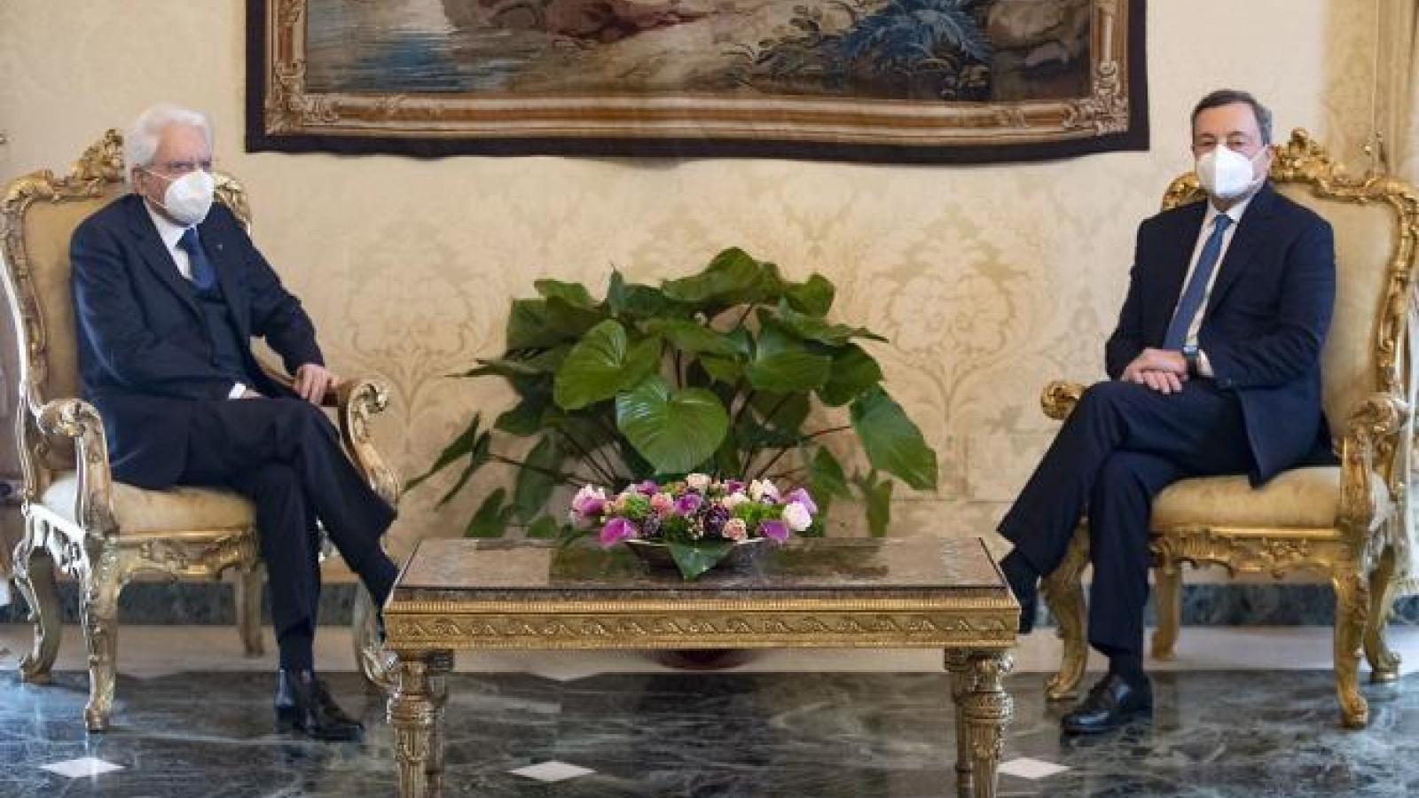 Cựu Chủ tịch Ngân hàng Trung ương châu Âu được giao lập chính phủ mới tại Italy