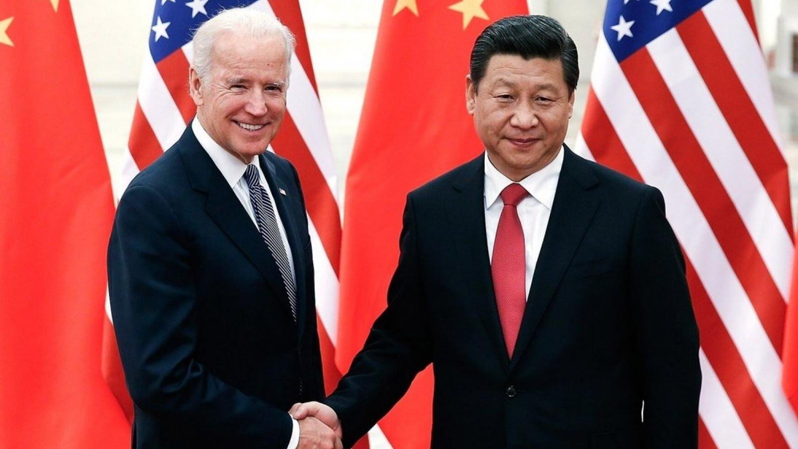 """Tổng thống Biden: Mỹ - Trung sẽ """"cạnh tranh gay gắt"""" thay vì xung đột"""