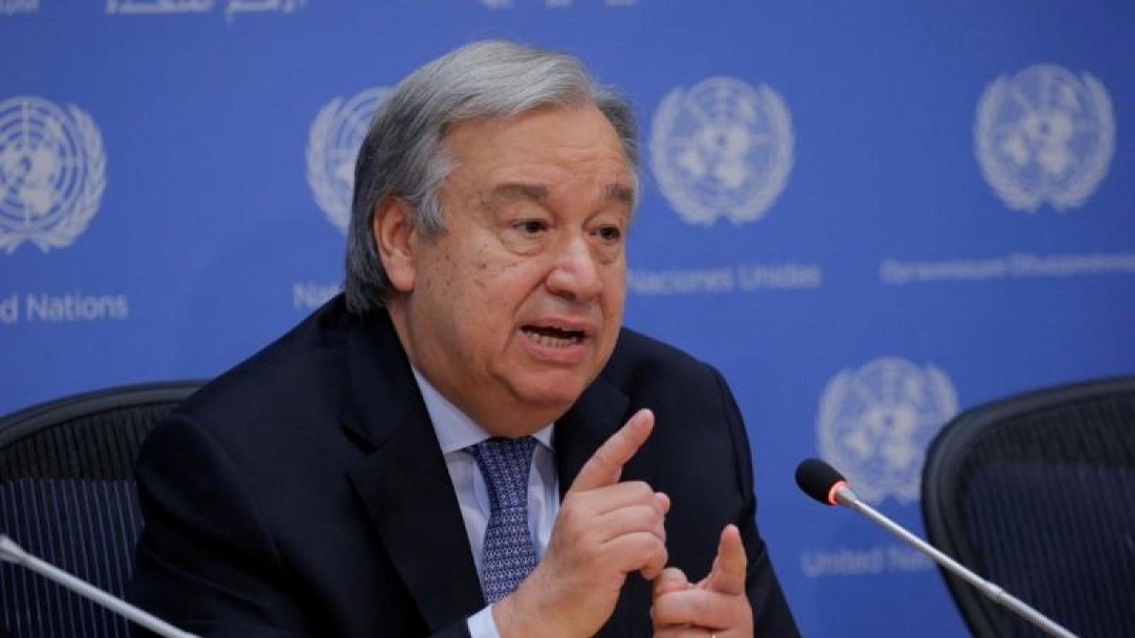Tổng Thư ký Liên Hợp Quốc kêu gọi G20 thành lập lực lượng đặc trách về vaccine Covid-19