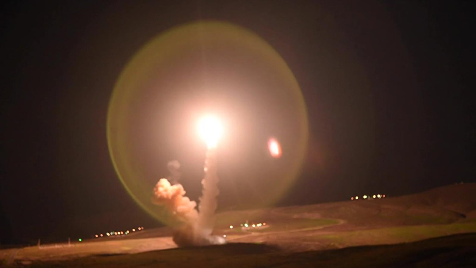 Không quân Mỹ thử nghiệm tên lửa đạn đạo Minuteman III