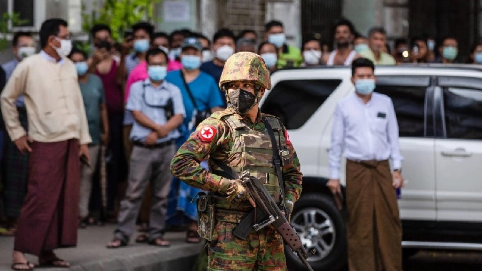 Thế giới kêu gọi quân đội Myanmar phản ứng kiềm chế trước các cuộc biểu tình