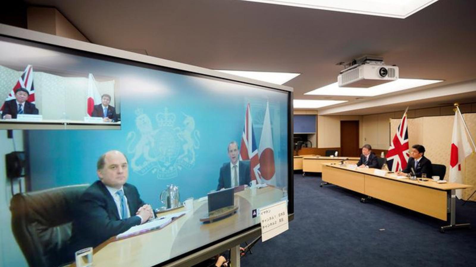 Nhật Bản, Anh bày tỏ quan ngại sâu sắc về tình hình Biển Đông và biển Hoa Đông