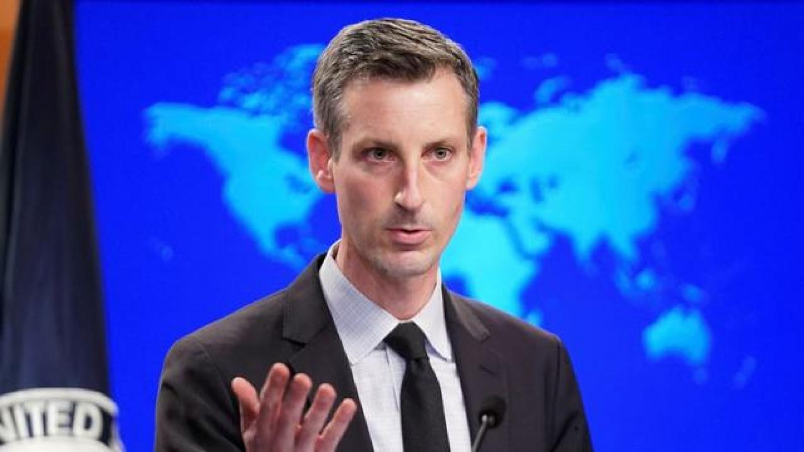 Mỹ quan ngại luật hải cảnh mới của Trung Quốc có thể dẫn tới các yêu sách phi pháp