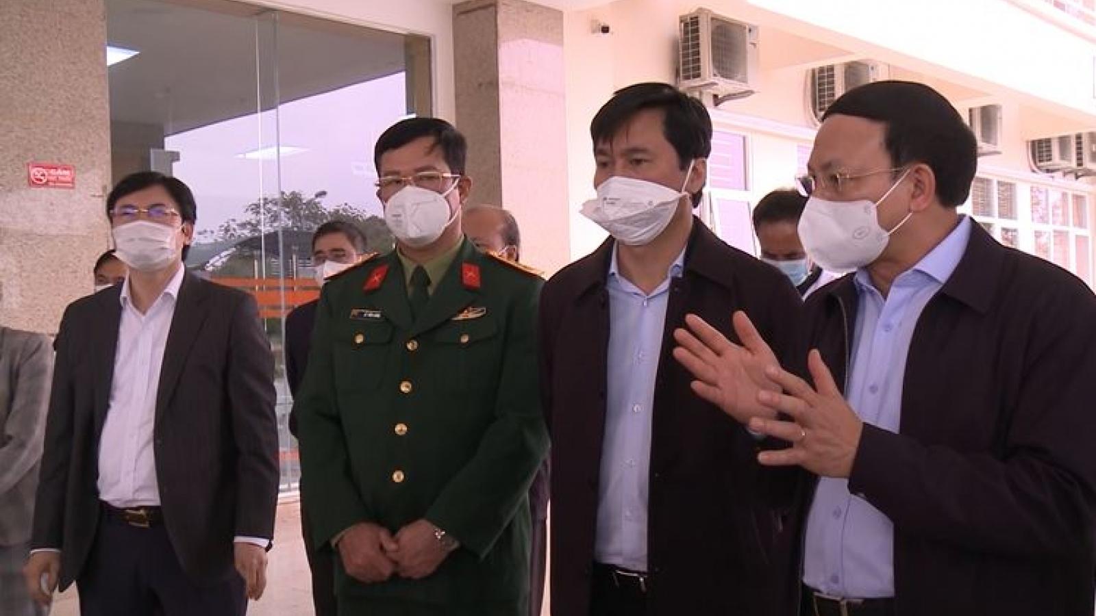 Quảng Ninh dồn lực lượng, phấn đấu dập được ổ dịch Đông Triều trước 30 Tết