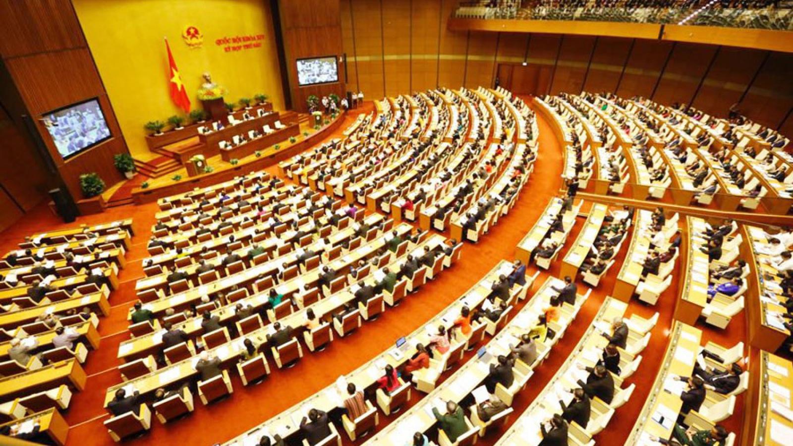 Đại biểu Quốc hội chuyên trách phải trong quy hoạch Thứ trưởng trở lên