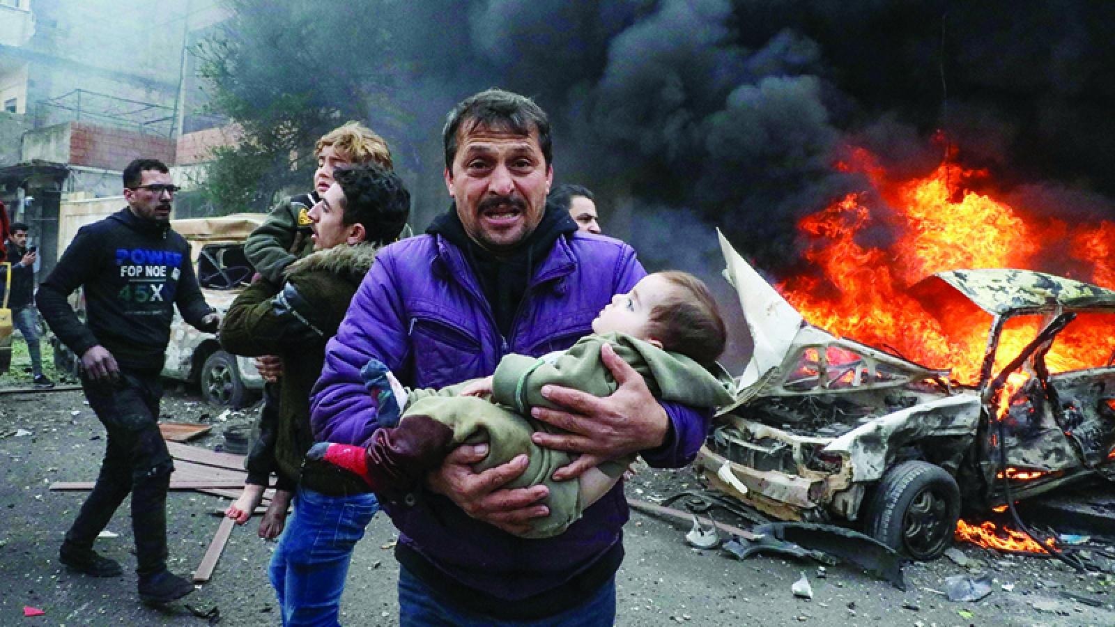 Đánh bom liên tiếp tại Syria khiến hàng chục người thương vong