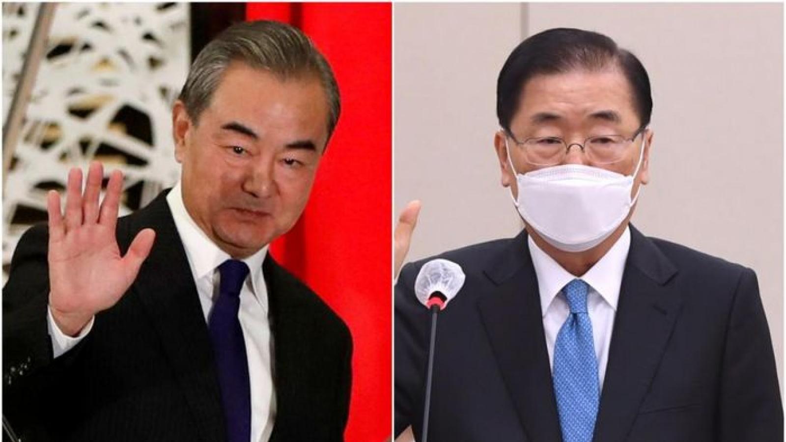 Hàn-Trung nhất trí thúc đẩy chuyến thăm Hàn Quốc của Chủ tịch Tập Cận Bình