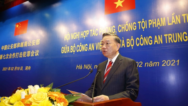 Vietnamese, Chinese public security ministries step up anti-crime co-operation