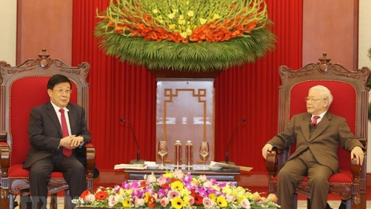 Top Vietnamese leader hosts Chinese Minister of Public Security