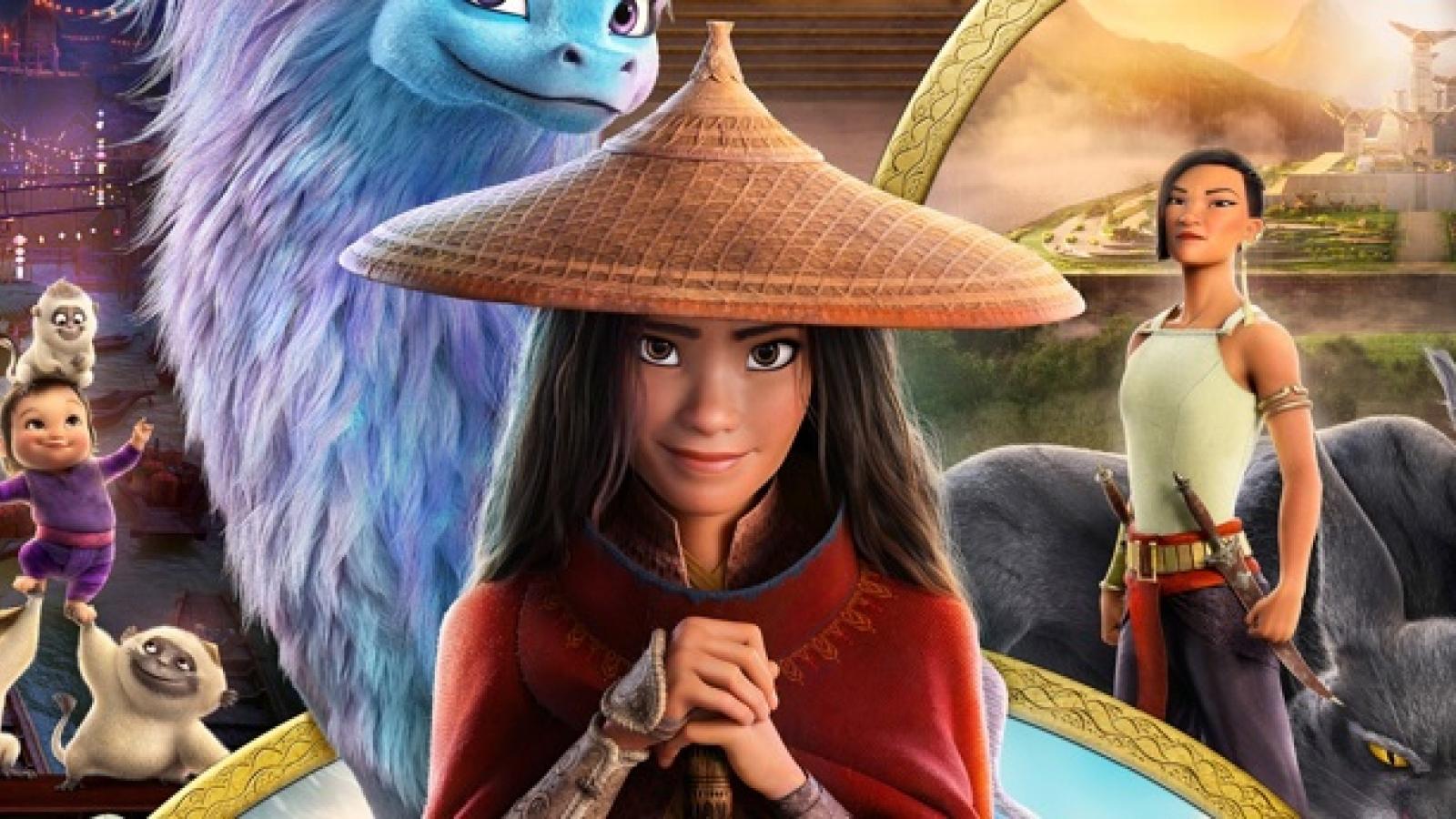 """""""Raya và Rồng thần cuối cùng"""" - phim hoạt hình về chuyến phiêu lưu hấp dẫn"""