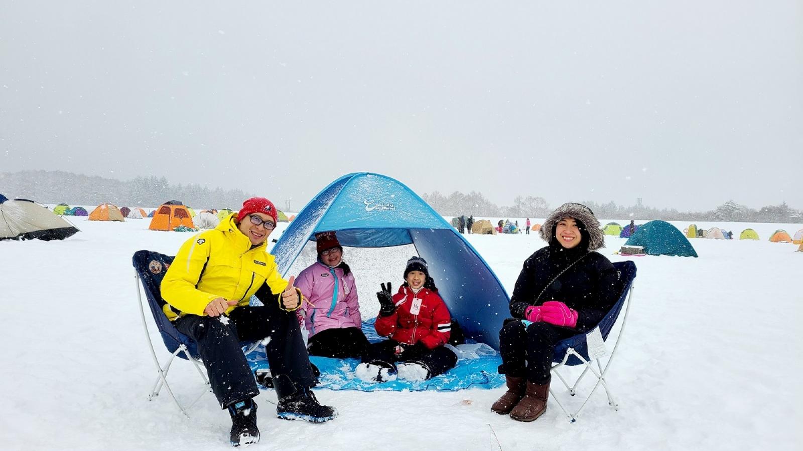 """Đi cắm trại - cơ hội """"vàng"""" để hiểu và dạy con cách xử lý tình huống"""