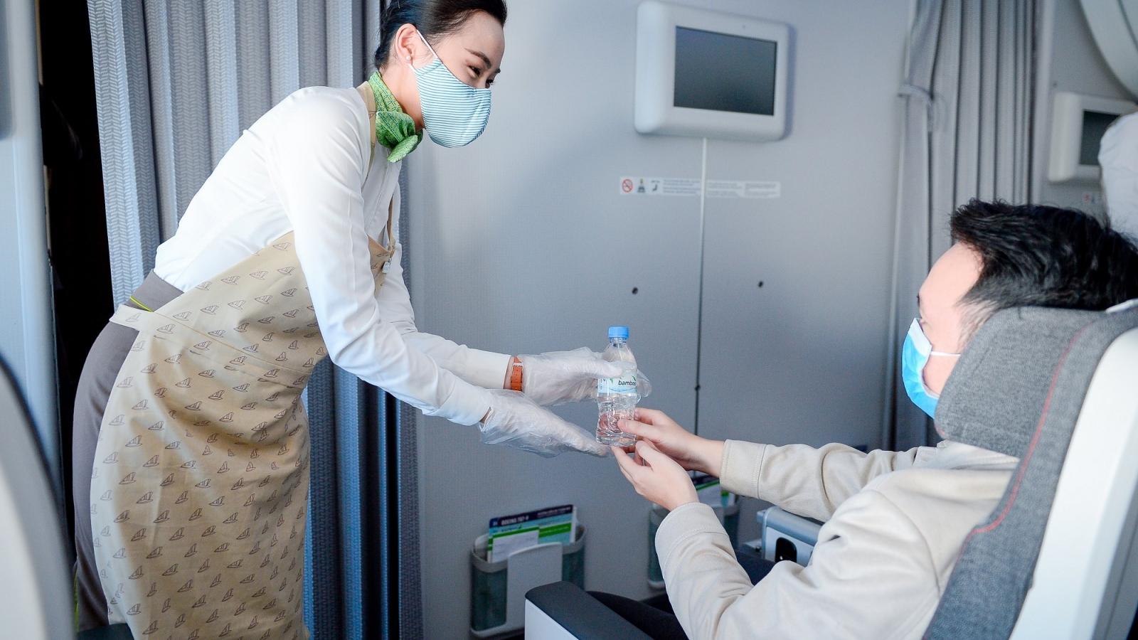 Bamboo Airways đặt an toàn của hành khách và cộng đồng lên hàng đầu