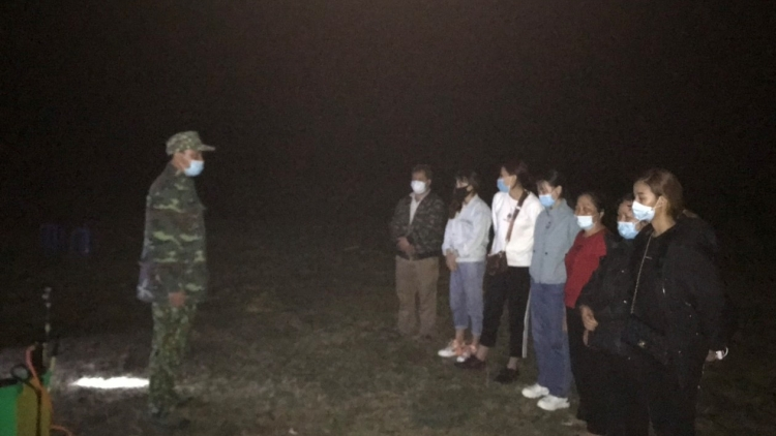 Phát hiện nhiều công dân vượt biên trái phép tại Cao Bằng