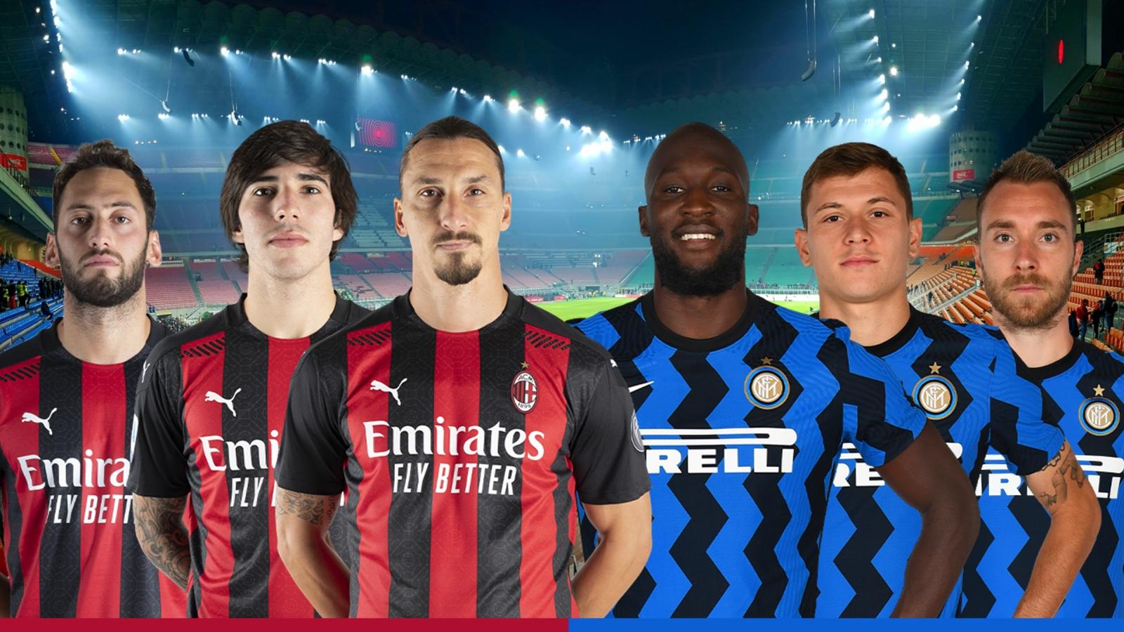 Dự đoán tỷ số, đội hình xuất phát trận AC Milan - Inter Milan