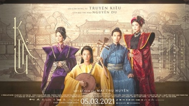 Actors gear up for 'Kieu' movie premiere in March