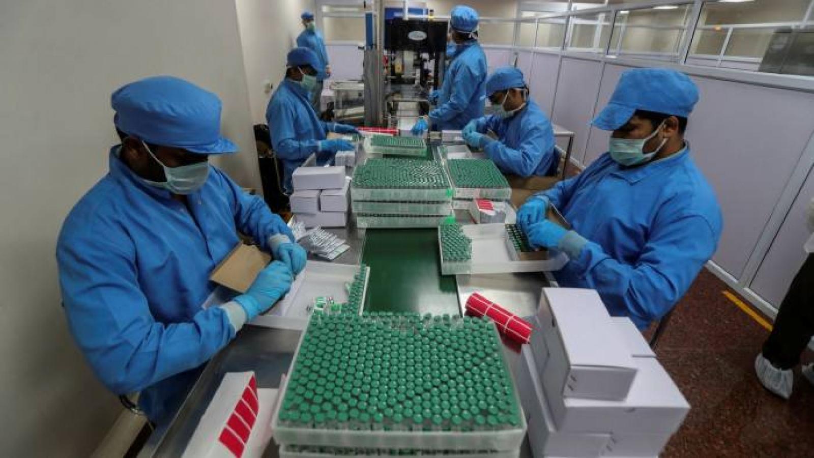 Trung Quốc và Ấn Độ chạy đua ngoại giao vaccine Covid-19