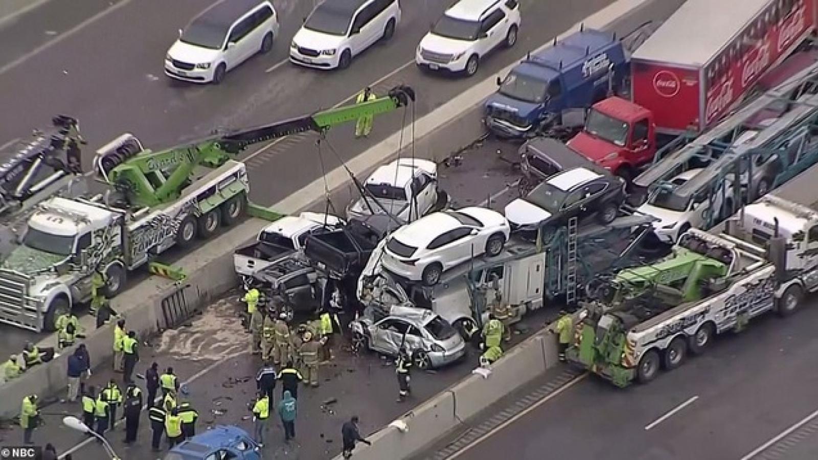 Ít nhất 5 người thiệt mạng trong vụ gần 100 xe ô tô đâm nhau ở Mỹ