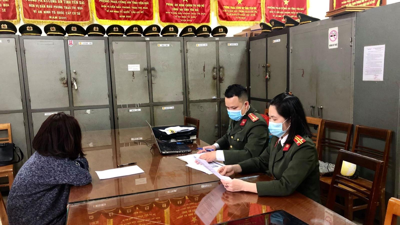 Xử phạt một phụ nữ ở Yên Bái thông tin sai sự thật về dịch bệnh Covid-19