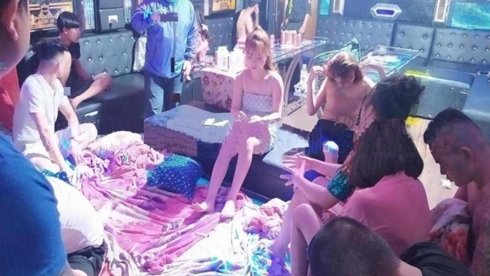 17 thanh niên sử dụng ma túy trong quán karaoke giữa mùa dịch