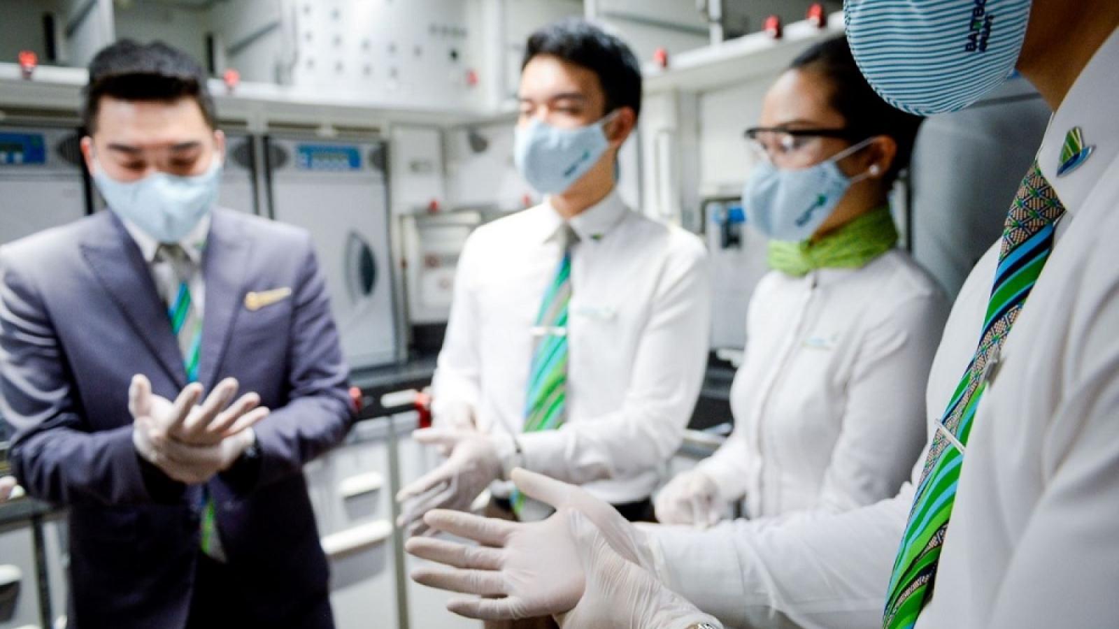 Bamboo Airways tăng cường các biện pháp toàn diện phòng dịch và hỗ trợ hành khách