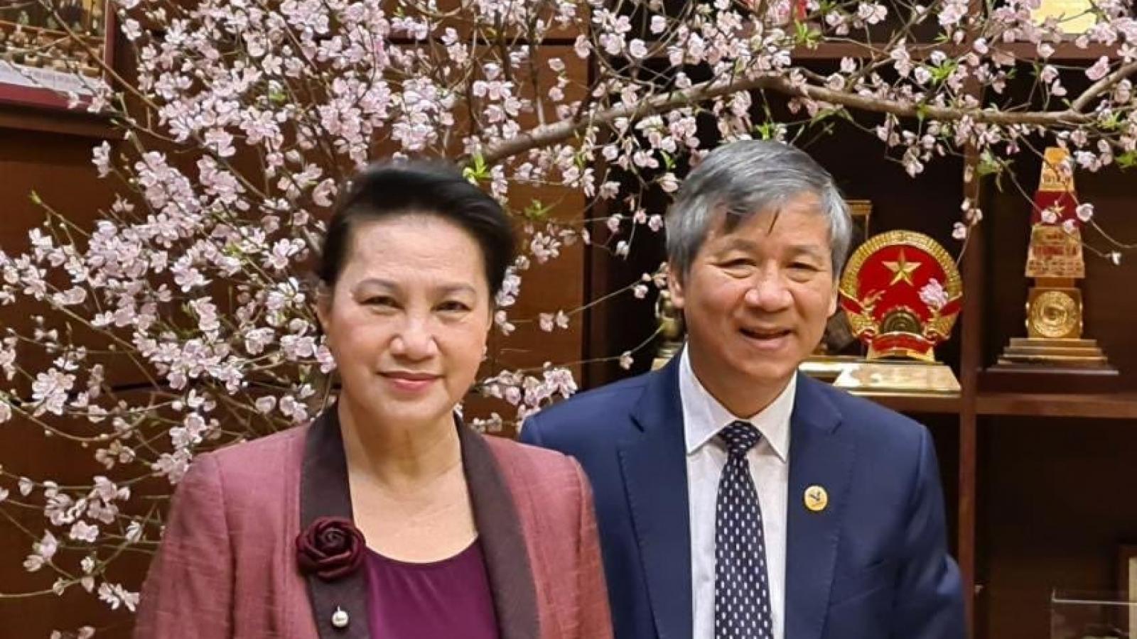 Thăm Chủ tịch Quốc hội Nguyễn Thị Kim Ngân ngày cuối năm
