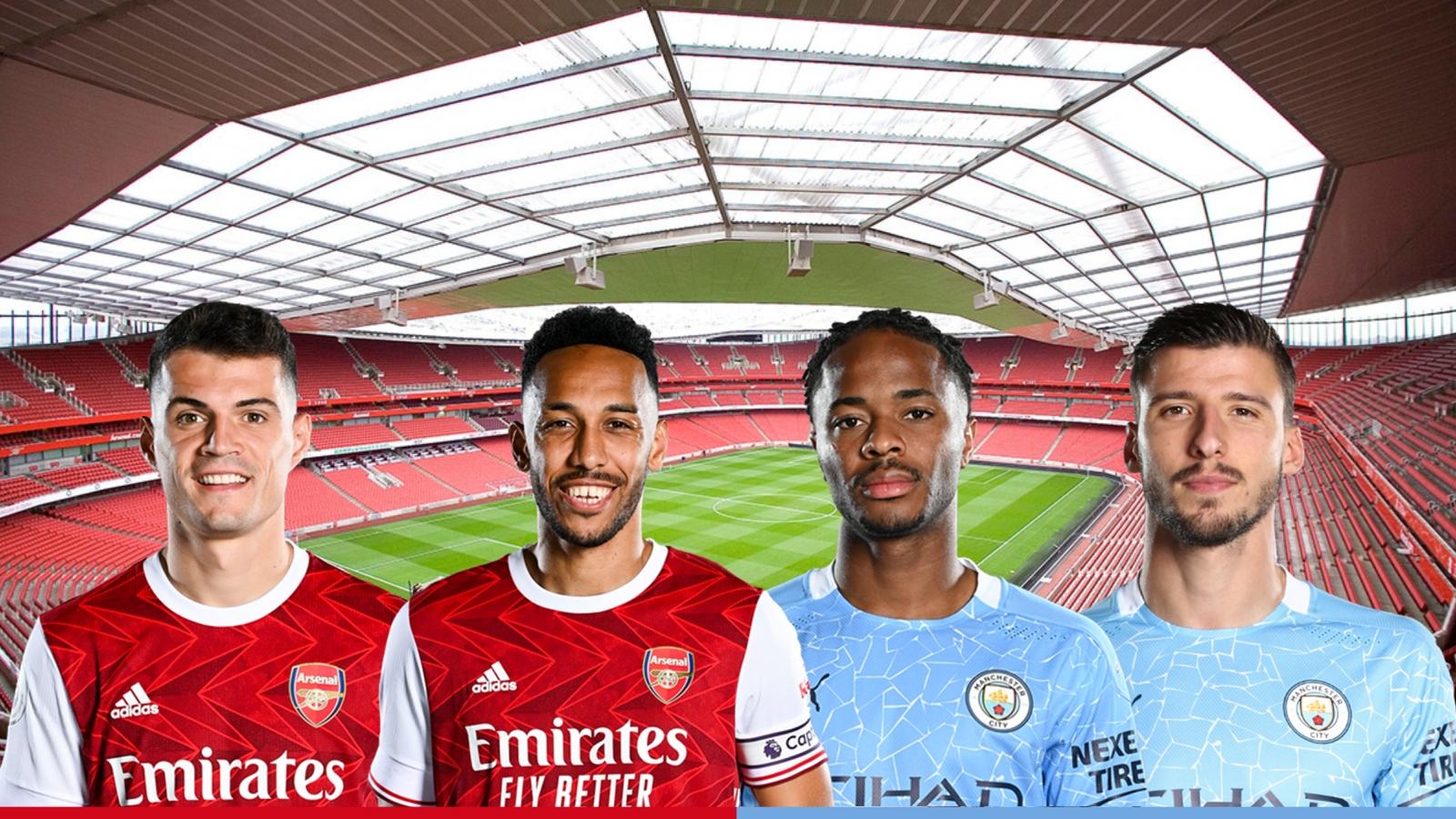 Dự đoán tỷ số, đội hình xuất phát trận Arsenal - Man City