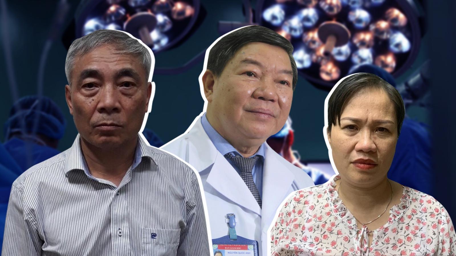 Những cán bộ nào của Bệnh viện Bạch Mai bị khởi tố?