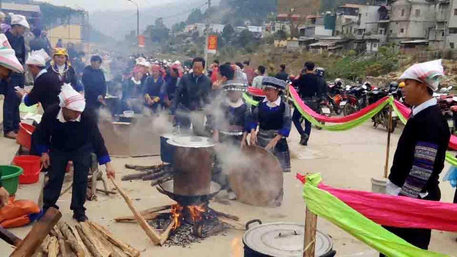Mong ethnic people celebrate Tet in northern Vietnam