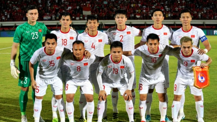 Vietnamese national team remain 93rd in latest FIFA rankings