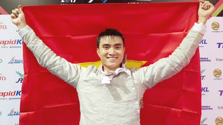 A Vietnamese hopeful in his quest for Tokyo Olympics berth