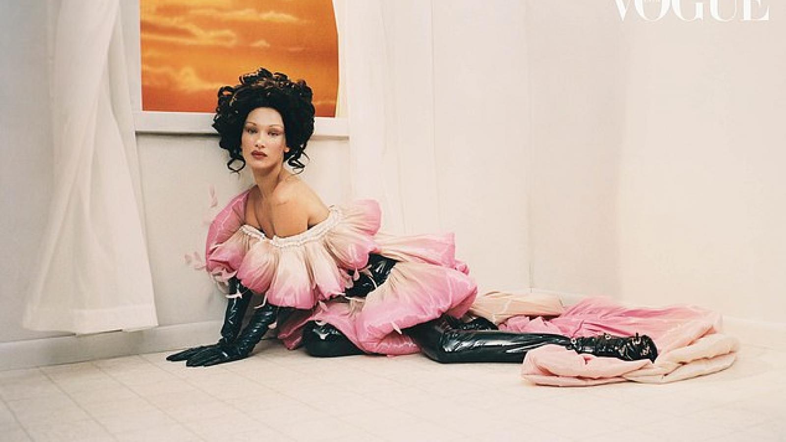 Bella Hadid hóa quý cô gợi cảm với phong cách cổ điển trên tạp chí Vogue