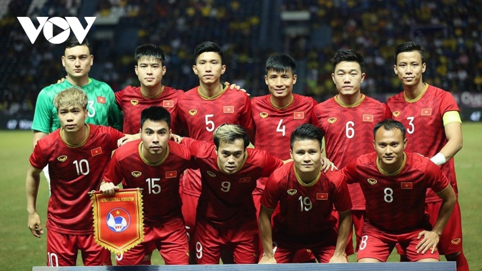Bảng xếp hạng FIFA tháng 2/2021: ĐT Việt Nam bị Thái Lan thu hẹp khoảng cách