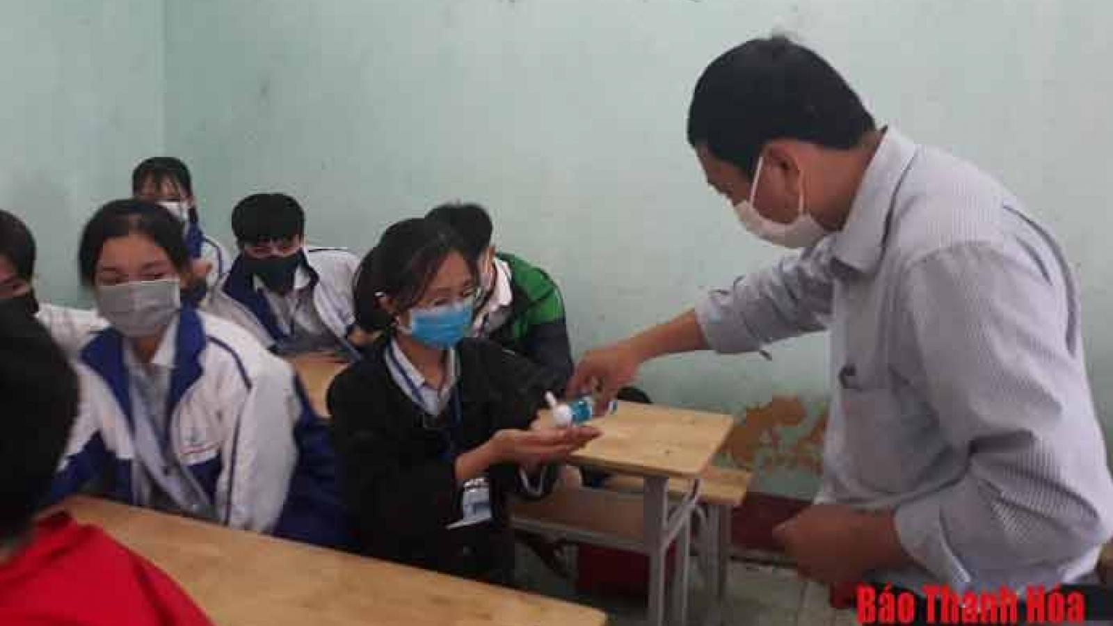 Học sinh ở Thanh Hóa nghỉ học phòng chống dịch Covid-19 từ ngày 2/2/2021