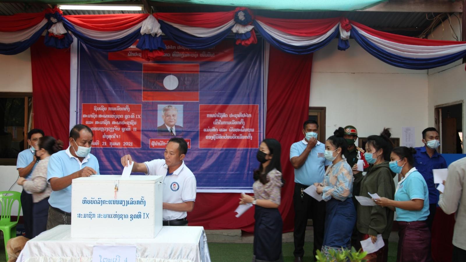Lào sẽ công bố kết quả bầu cử Quốc hội sau một tuần