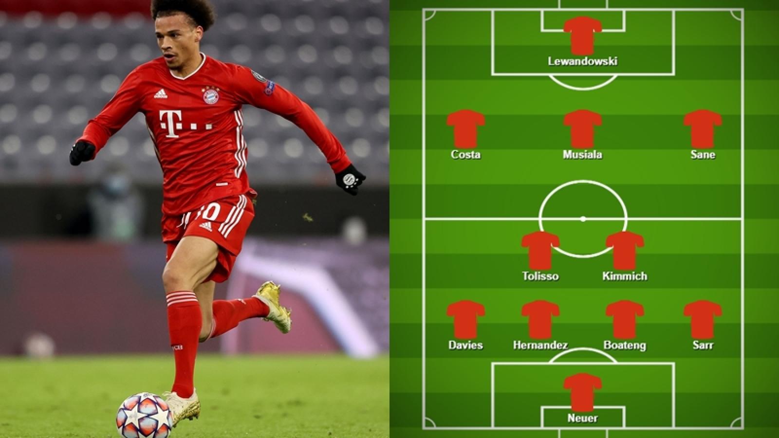"""Đội hình """"công thủ toàn diện"""" sẽ đưa Bayern vào chung kết FIFA Club World Cup?"""