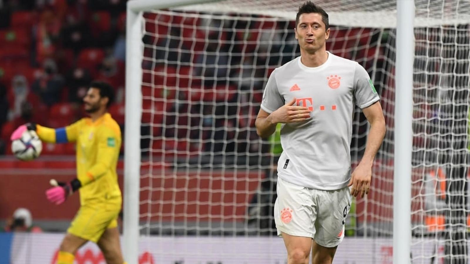 Lewandowski tỏa sáng, Bayern Munich vào chung kết FIFA Club World Cup