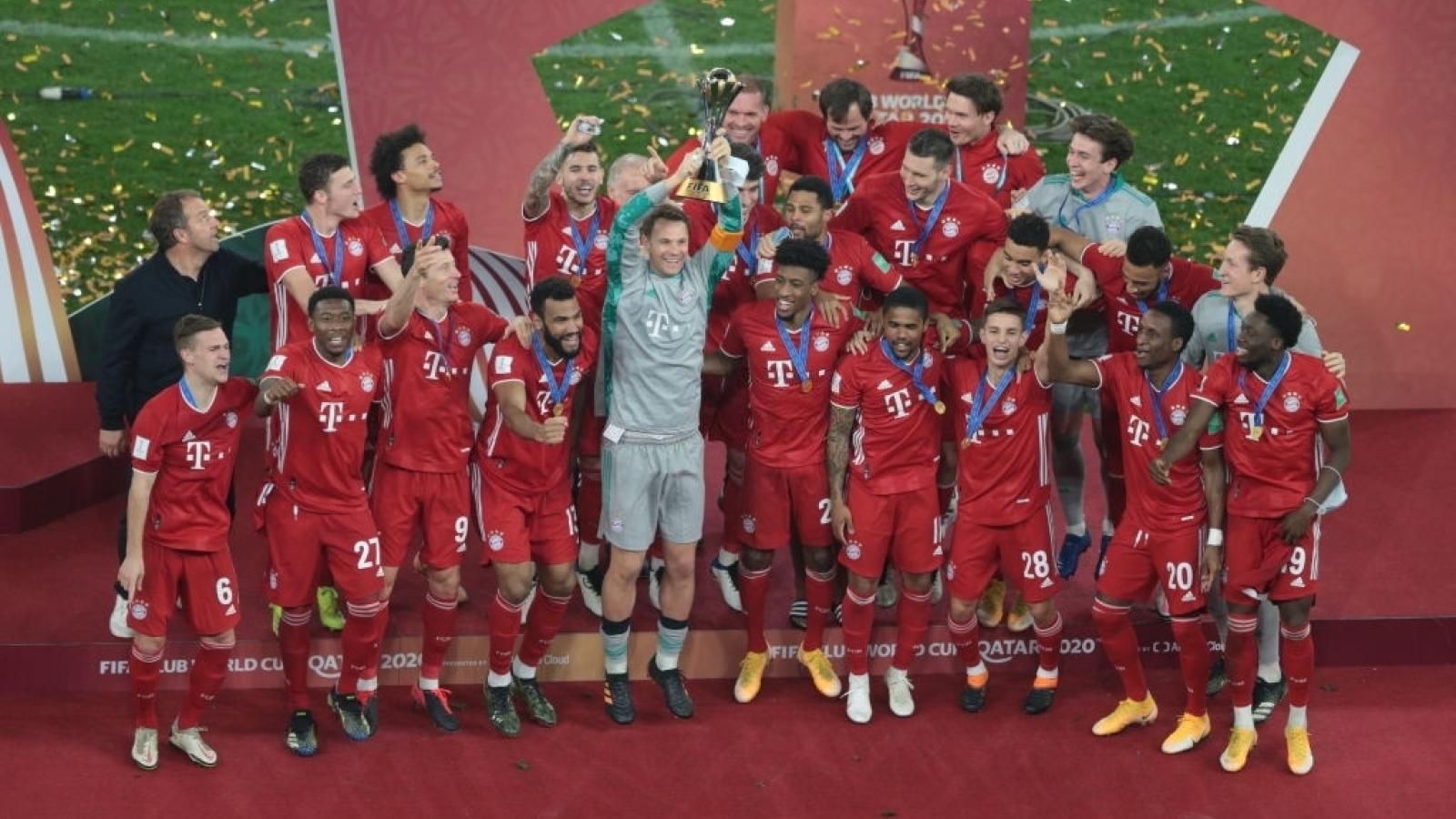 Đánh bại Tigres UANL, Bayern Munich hoàn tất cú ăn 6