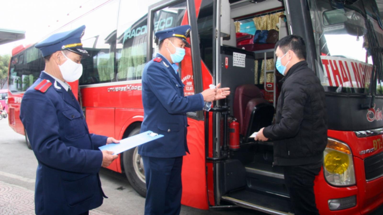 Lai Châu siết chặt quản lý vận tải hành khách dịp Tết