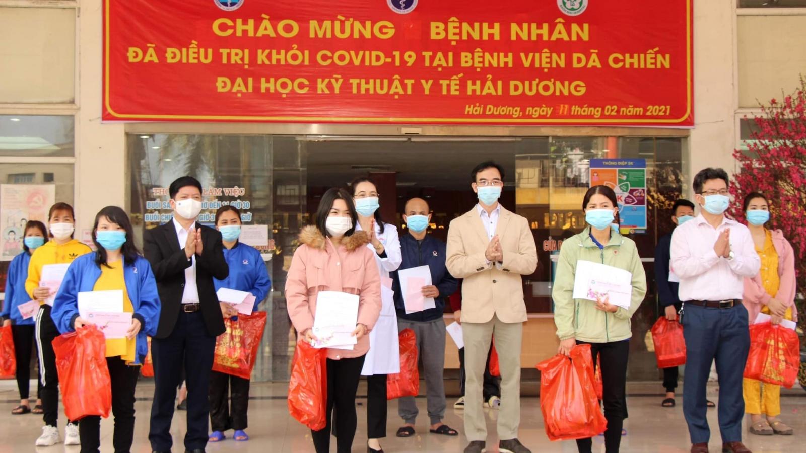 27 bệnh nhân COVID-19 được công bố khỏi bệnh trong ngày 30 Tết