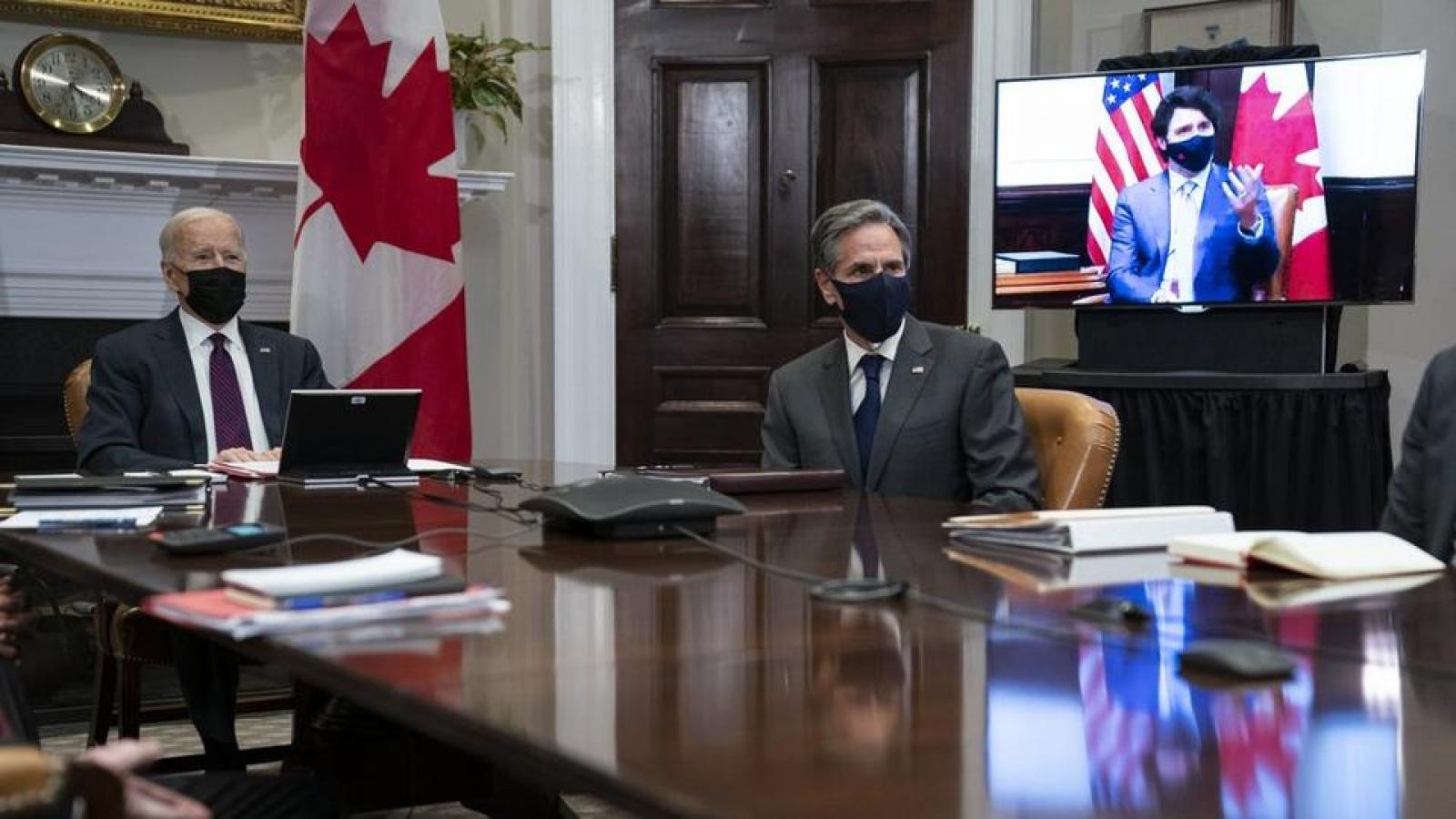 """""""Ngoại giao trực tuyến"""" làm khó nhiệm vụ hàn gắn đồng minh của Ngoại trưởng Mỹ Blinken"""