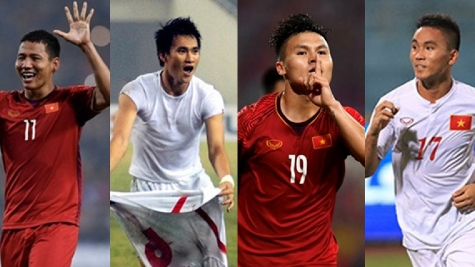Bóng đá Việt Nam và cái duyên đặc biệt với các cầu thủ tuổi Sửu