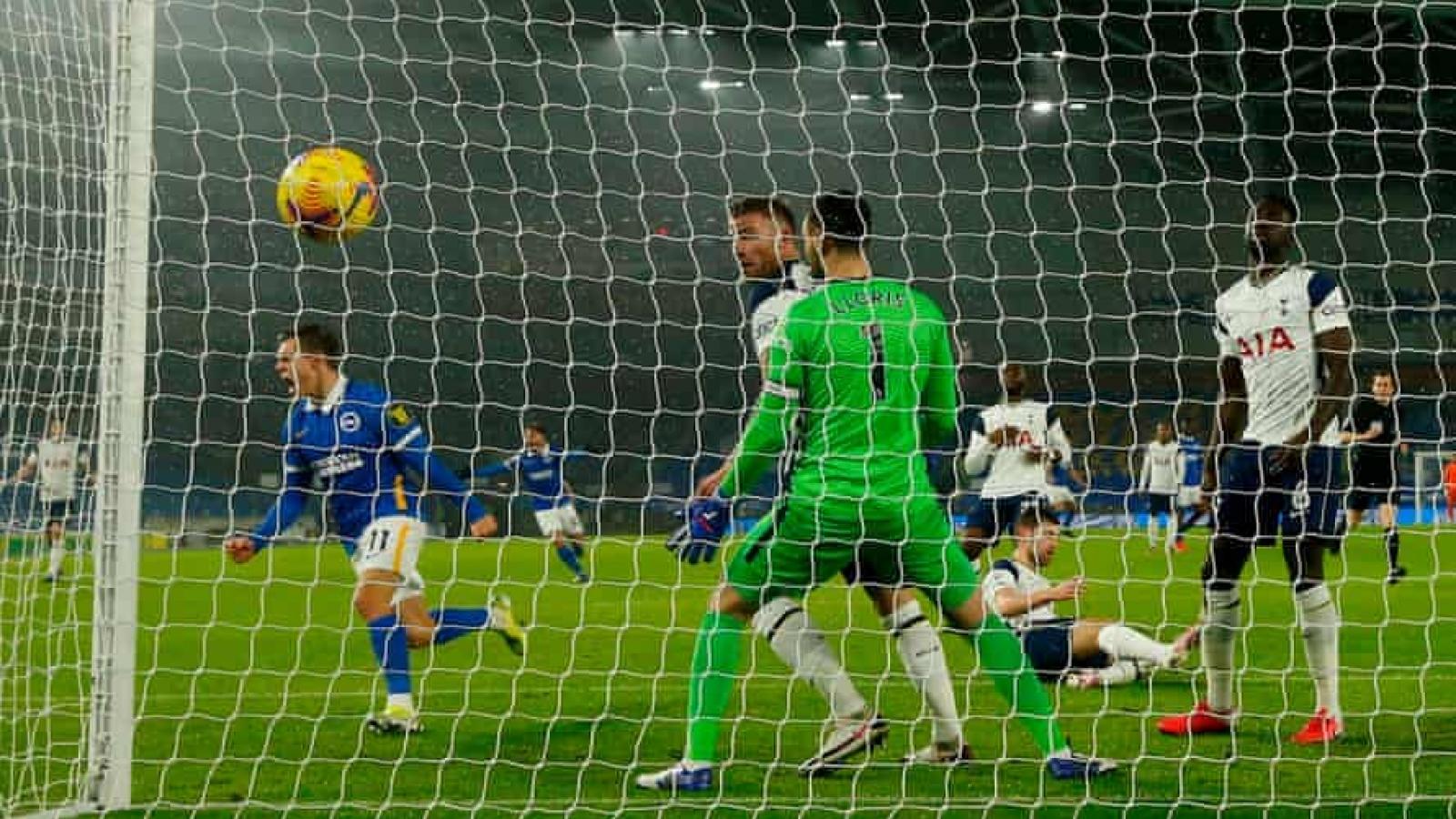 Gục ngã trước Brighton, Tottenham bỏ lỡ cơ hội áp sát top 4 Premier League