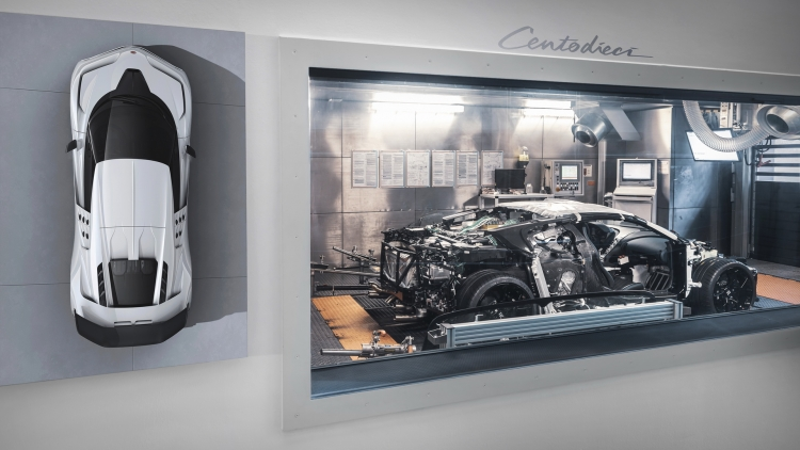 """Siêu phẩm của """"CR7"""" Bugatti Centodieci bắt đầu quá trình phát triển"""